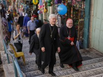 Deutsche Bischöfe im Heiligen Land