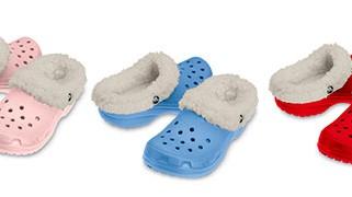 crocs, gefüttert