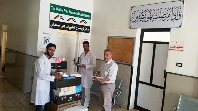 Medical Points Syrien