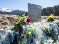 Gedenkstele Germanwings Absturz
