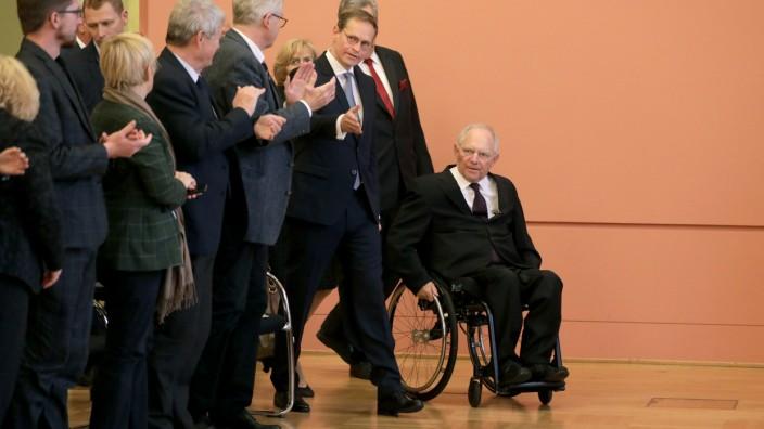 Finanzminister Schäuble wird Berliner Ehrenbürger