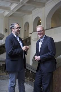 Prof. Dr. med. Jochen Gensichen und Prof. Dr. med Jörg Schelling