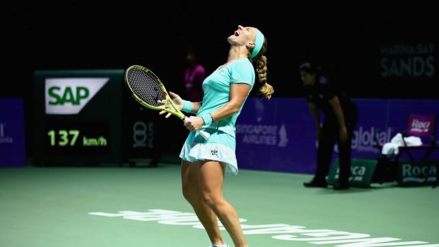 BNP Paribas WTA Finals: Singapore 2016 - Day Two