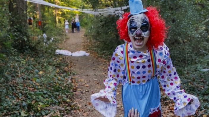 Halloween activities in Avondale Estates, Georgia, USA