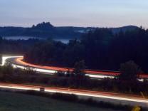 Autobahn bei Irschenberg, 2014