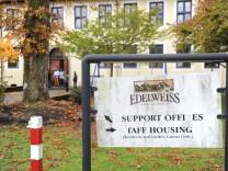Flüchtlingsunterkunft im Abrams-Komplex in Garmisch-Partenkirchen, 2016