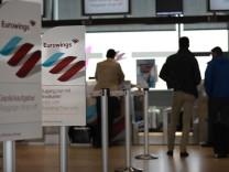 Angekündigte Streiks bei Eurowings