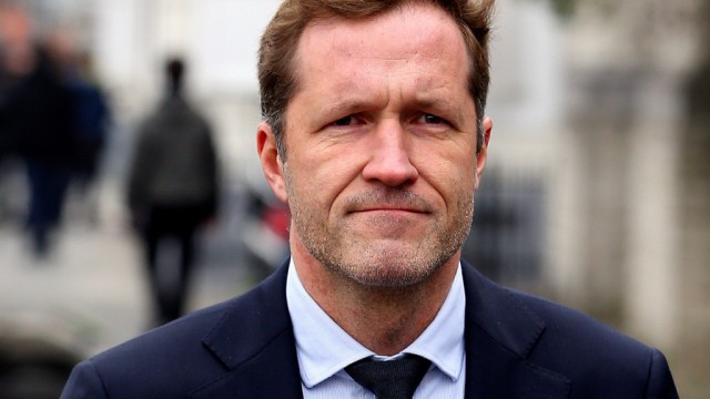 Minister-President of Wallonia Magnette leave a meeting on the CETA in Brussels