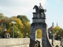 Wittelsbacherbrücke in München, 2016