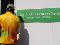 Rio 2016 - Dopingkontrolle