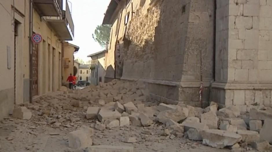 Erdbeben Naturkatastrophe