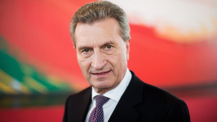 Günther Oettinger wird EU Haushaltskommissar