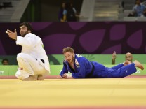 European Games Baku BAKU AZERBAIJAN 24 JUN 15 European Games Baku Judo men 60kg Image shows Bes; Judo