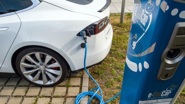 Stromtankstelle für Elektroauto