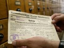 NSDAP-Antrag von Filbinger