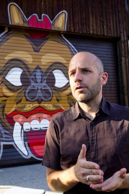 Gerlach Graffiti an neuem Hexendomizil