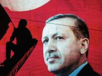 ***BESTPIX*** Erdogan Supporters Gather In The Streets