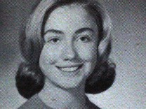 Hillary Clinton in der High School
