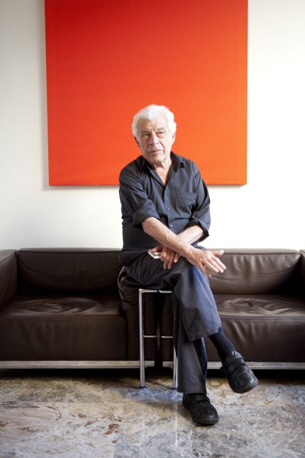 Portrait of John Berger 2010 PUBLICATIONxINxGERxSUIxAUTxHUNxONLY Copyright LeonardoxCendamo Leemage