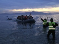 Refugees situation in Greece