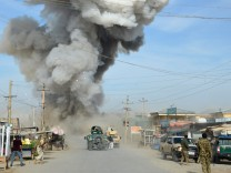Afghan police station repels Taliban attack