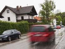 Oberhaching, Münchner Straße hat Sanierungsbedarf
