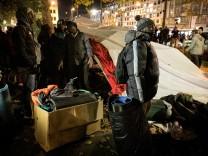 Räumung Flüchtlingscamp Sendinger Tor Platz