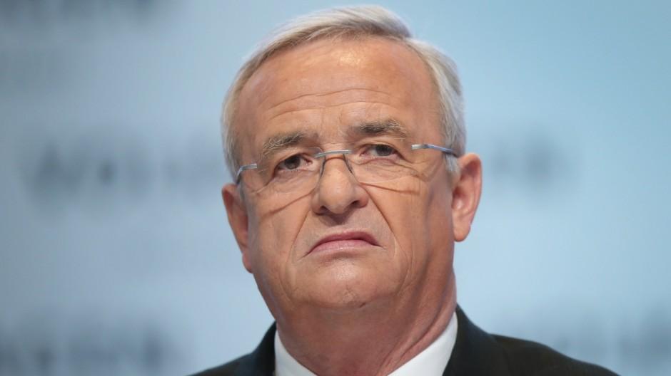 (FILE) Volkswagen CEO Martin Wintekorn