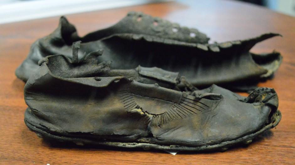 Römischer Schuh aus Vindolanda