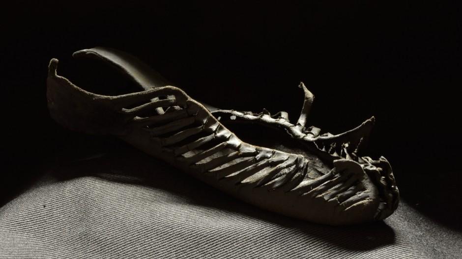 Römischer Schuh aus Vindolanda Hadrianswall