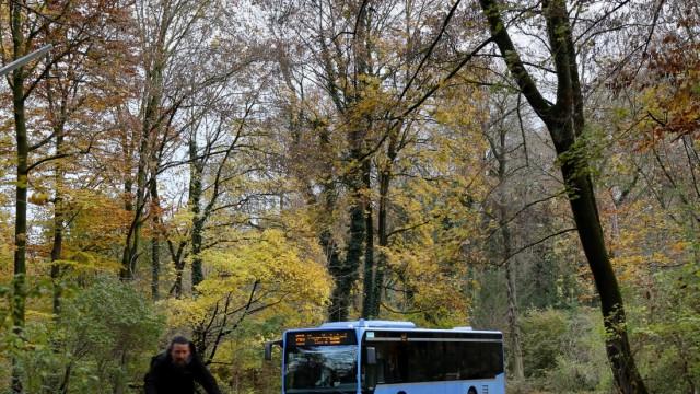 Bus Englischer Garten, Nähe Thiemestraße