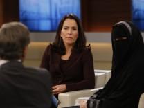 ARD-Talkshow 'Anne Will' mit Nikab-Nora