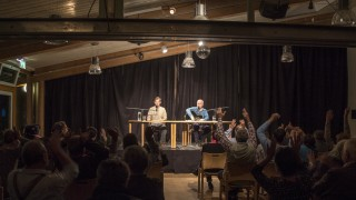 """SWW Veranstaltung 11. November 2015: Wiener Blut: """"a feines Safterl!"""" Eine poetisch-musikalische Melange mit Peter Hoffmann, Rezitation und Gesang, und Harald Scheubner, Piano, Gitarre und Akkordeon"""