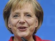 Angela Merkel Bundeskanzlerin Bundestagswahl 2009 Foto: Getty