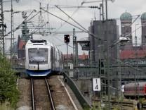 Zug der BOB in München, 2014