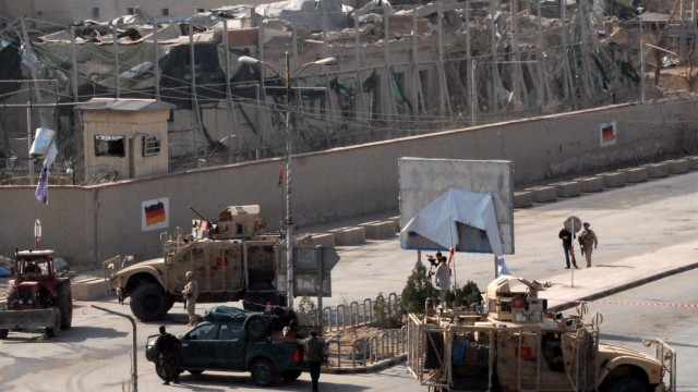 Taliban attacked German consulate in Mazar-e-Sharif