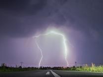 Gewitter zum meteorologischen Herbstanfang