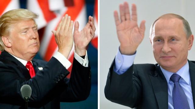 Donald Trump und Wladimir Putin