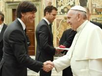 Papstaudienz der deutschen Fußball-Nationalmannschaft