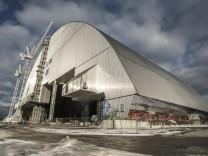 Transport der neuer Schutzhülle hat in Tschernobyl begonnen