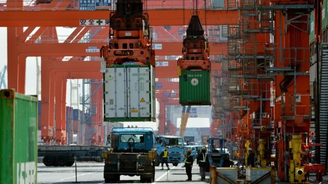 Süddeutsche Zeitung Wirtschaft Japans Premier reist zuTrump