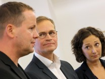Fortsetzung der Koalitionsverhandlungen in Berlin