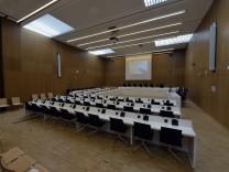 Hochsicherheitsgerichtssaal der JVA München-Stadelheim, 2016