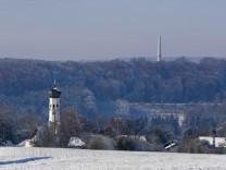 Windrad Hamberg - Fernansicht