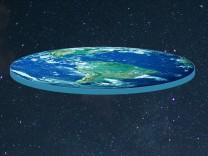 Erde flach