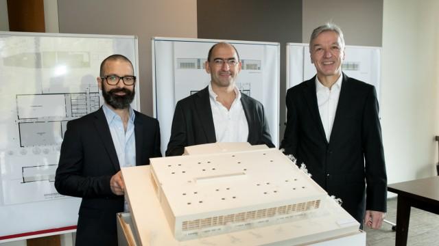 Sportpark Nymphenburg, , Margarethe-Danzi-Str. 21, ESV stellt Pläne für Erweiterungsbau vor