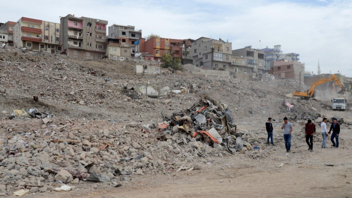 Aftermath of clashes between Turkish special forces and PKK milit