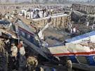 Zug in Pakistan entgleist (Bild)