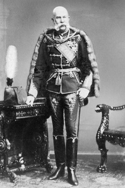 Kaiser Franz Joseph I. von Österreich, 1908