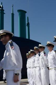 Benjamin Netanyahu Welcomes Israeli Navy's Fourth German Built Dolphin Class Submarine